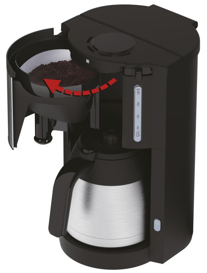 Krups km305d Proaroma Therm noir-Acier Inoxydable Filtre-Machine à café