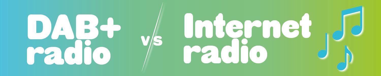 Wat is het verschil tussen digitale radio en internet radio?