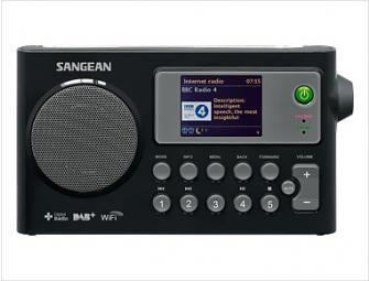 Sangean internet radio dab+ noir