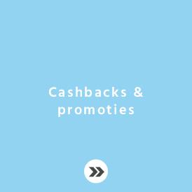 Cashback & promoties