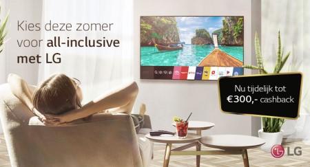 LG OLED  NanoCell - Tot €300 cashback