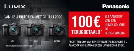 Panasonic Lumix - €100 cashback
