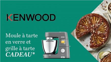 Kenwood - Moule et grille à tarte cadeau