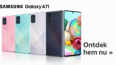 Samsung Galaxy A71 ontdek hem nu