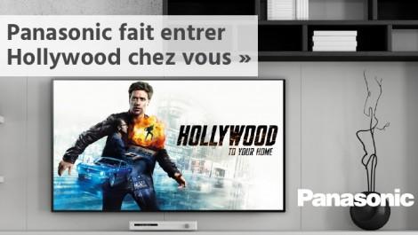 Panasonic fait entrer Hollywood chez vous