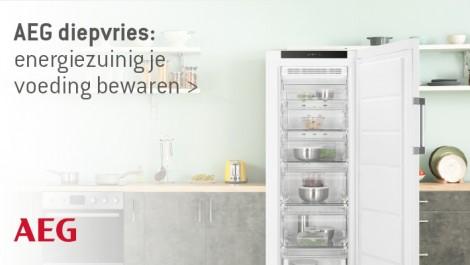 AEG diepvries: energiezuinig je voeding bewaren