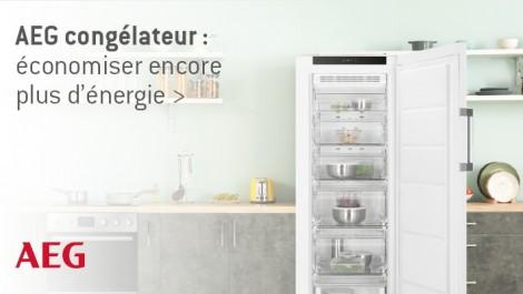 AEG congélateur: économiser encore plus d'énergie