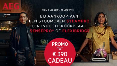 Promo tot €390 cadeau