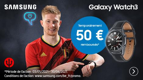 Samsung Galaxy watch 3 Temporairement 50€ remboursés