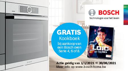 Bosch - Gratis kookboek Loïc