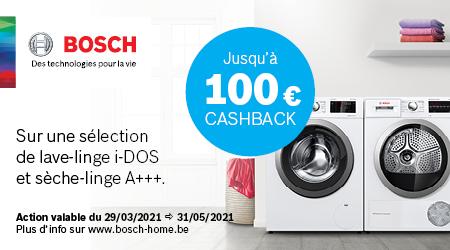 Bosch - Jusquà €100 cashback